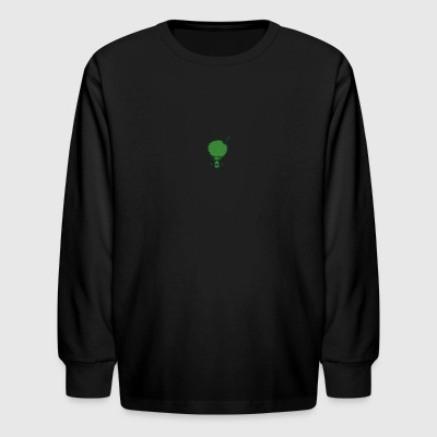 Gangster Broccoli - Kids' Long Sleeve T-Shirt