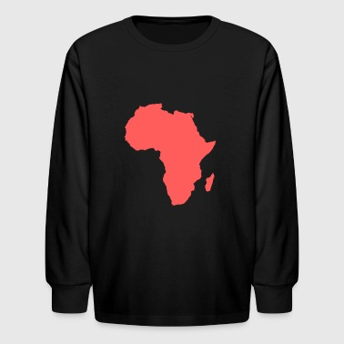 Because, Africa - Kids' Long Sleeve T-Shirt