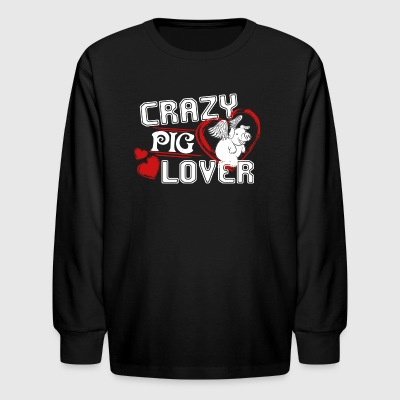 Pig Lover Shirt - Kids' Long Sleeve T-Shirt