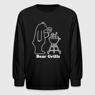 Bear Grills - Kids' Long Sleeve T-Shirt