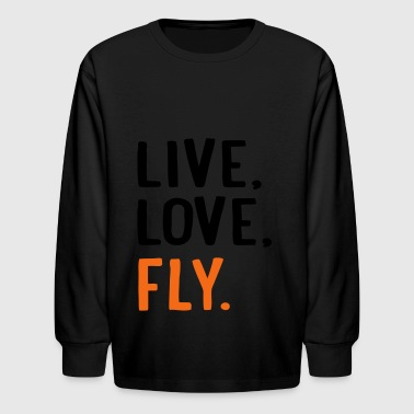 fly - Kids' Long Sleeve T-Shirt