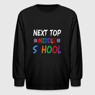 Next Stop Middle School - Kids' Long Sleeve T-Shirt