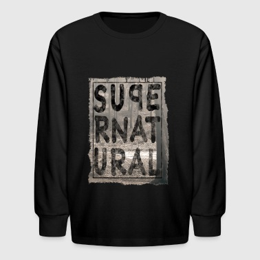 supernatural - Kids' Long Sleeve T-Shirt