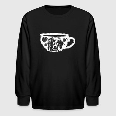 Dachshund Tshirt - Kids' Long Sleeve T-Shirt