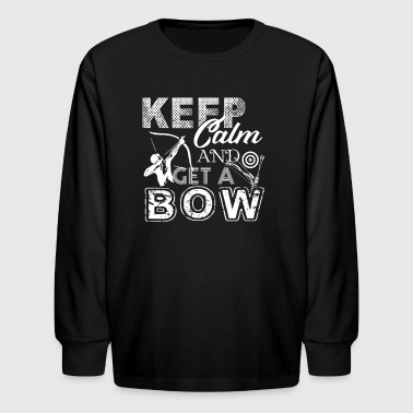 Archery Shirts - Kids' Long Sleeve T-Shirt