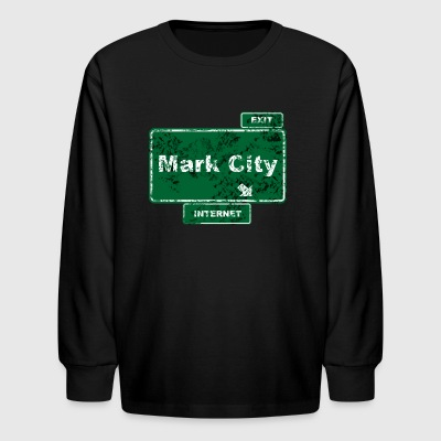 Mark City - Kids' Long Sleeve T-Shirt