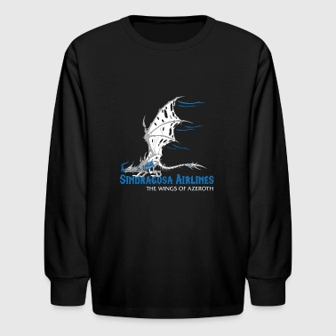 Sindragosa Airlines - Kids' Long Sleeve T-Shirt