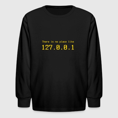 127.0.0.1 - IP address - Kids' Long Sleeve T-Shirt