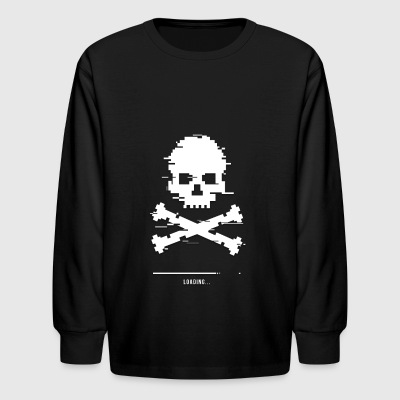 Game over Loading Glitch - Kids' Long Sleeve T-Shirt