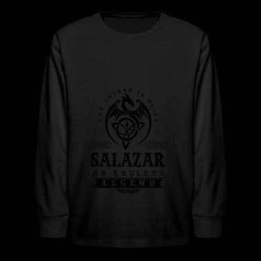 SALAZAR - Kids' Long Sleeve T-Shirt