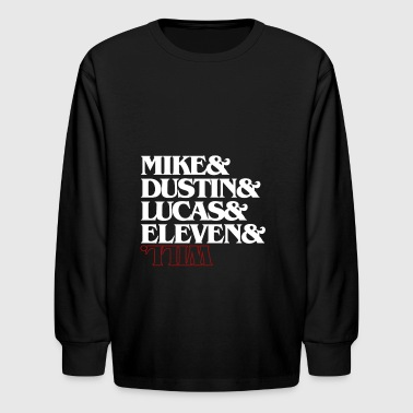 STRANGER THINGS - Kids' Long Sleeve T-Shirt