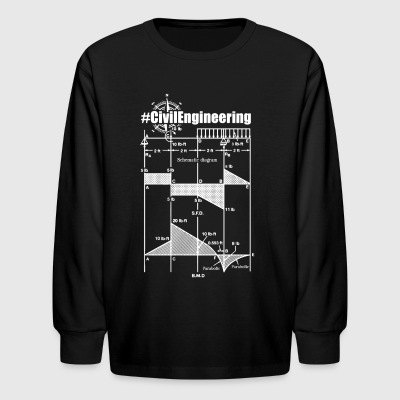 Civil Engineering Shirts - Kids' Long Sleeve T-Shirt