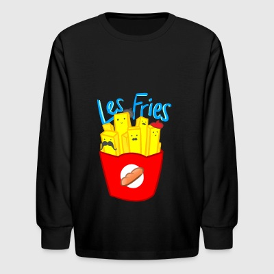 Les Fries - Kids' Long Sleeve T-Shirt