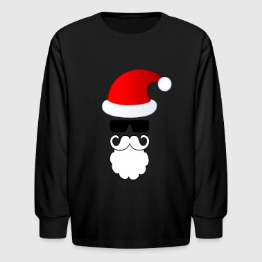 Lovely Santa - Kids' Long Sleeve T-Shirt