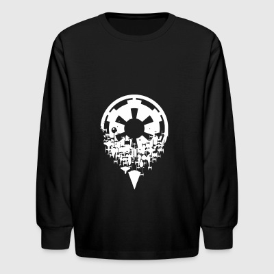 FRACTURED EMPIRE - Kids' Long Sleeve T-Shirt