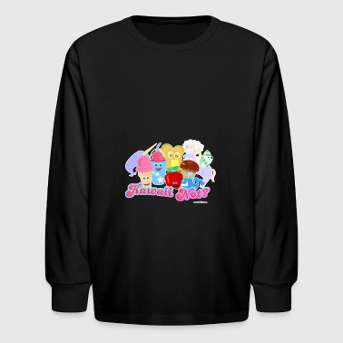 Kawaii Not? - Kids' Long Sleeve T-Shirt