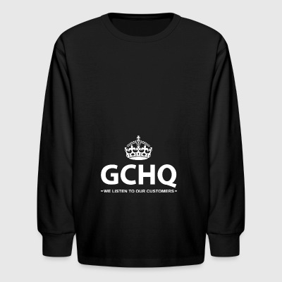 The Government Communications Head Quarters - Kids' Long Sleeve T-Shirt