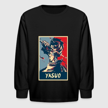 League of Legends Yasuo - Kids' Long Sleeve T-Shirt