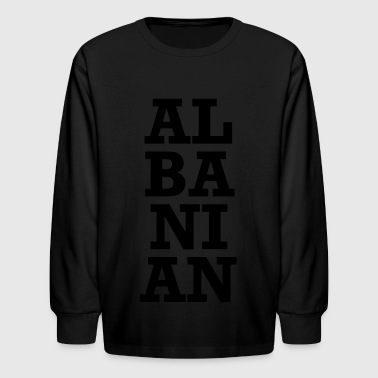 AL BA NI AN - Kids' Long Sleeve T-Shirt