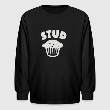 stud muffin - Kids' Long Sleeve T-Shirt