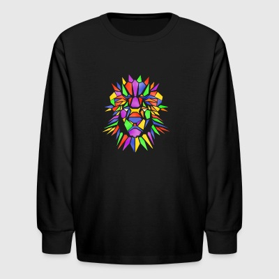 The Lion of Peace - Kids' Long Sleeve T-Shirt