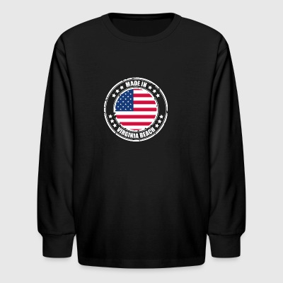 VIRGINIA BEACH - Kids' Long Sleeve T-Shirt