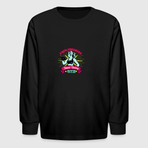 Stop Dreaming Gym - Kids' Long Sleeve T-Shirt