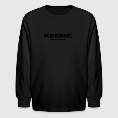 NEW HAMPSHIRE KEENE US EDITION - Kids' Long Sleeve T-Shirt