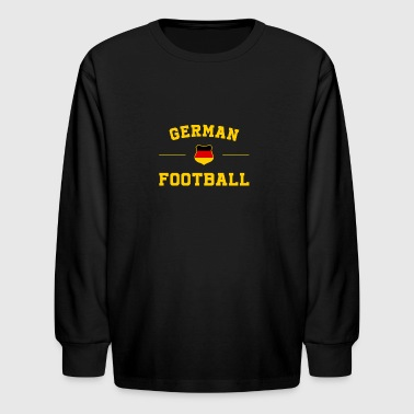 Germany Football Shirt - Germany Soccer Jersey - Kids' Long Sleeve T-Shirt