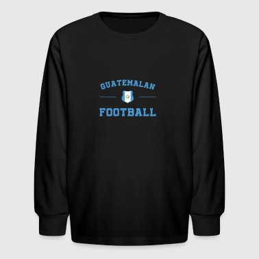 Guatemala Football Shirt - Guatemala Soccer Jersey - Kids' Long Sleeve T-Shirt