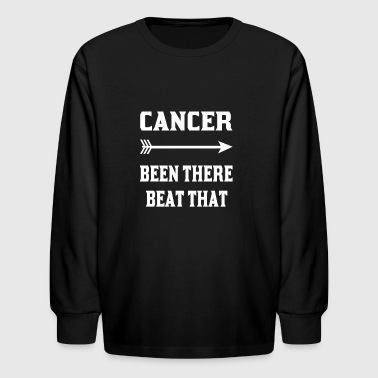 Cancer been there beat that tshirts - Kids' Long Sleeve T-Shirt