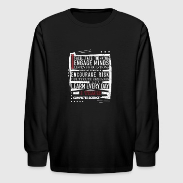 Computer Science Teacher Teacher Appreciation - Kids' Long Sleeve T-Shirt