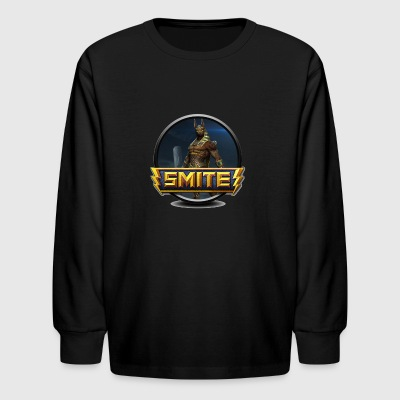 Smite Anubis Logo - Kids' Long Sleeve T-Shirt