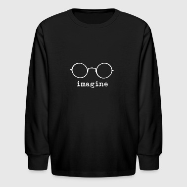 Imagine - Kids' Long Sleeve T-Shirt