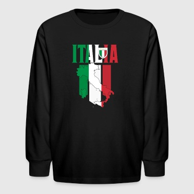 Italy - Kids' Long Sleeve T-Shirt