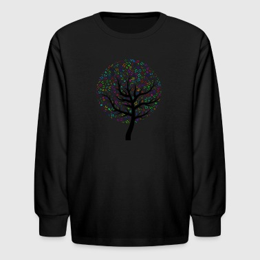 Musictree - Kids' Long Sleeve T-Shirt