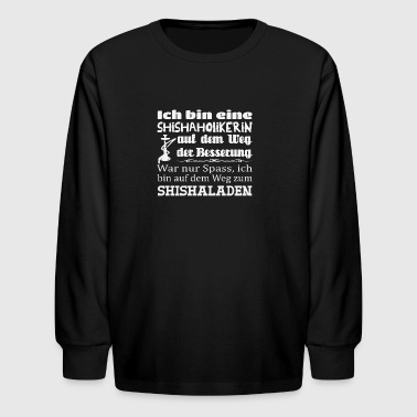 Shishaholikerin - Kids' Long Sleeve T-Shirt