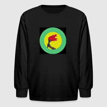 Zaire Air borce Roundel - Kids' Long Sleeve T-Shirt