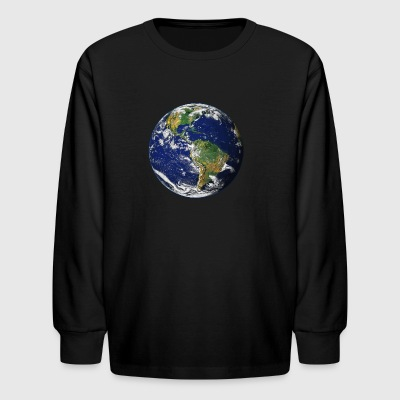 Planet Earth - Kids' Long Sleeve T-Shirt