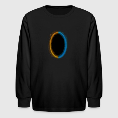 Dual Portals - Kids' Long Sleeve T-Shirt