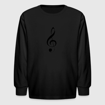 G note - Kids' Long Sleeve T-Shirt
