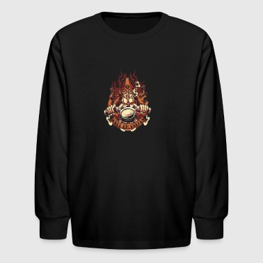 Hell on Wheels - Kids' Long Sleeve T-Shirt