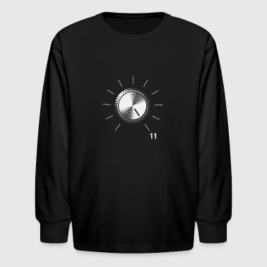 Volume Knob - These go to 11 - Kids' Long Sleeve T-Shirt