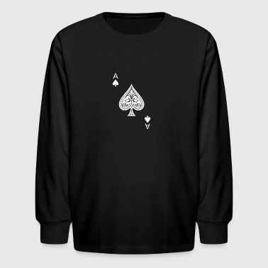 Ace of Spades - Kids' Long Sleeve T-Shirt