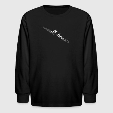Oboe Tee Shirts - Kids' Long Sleeve T-Shirt