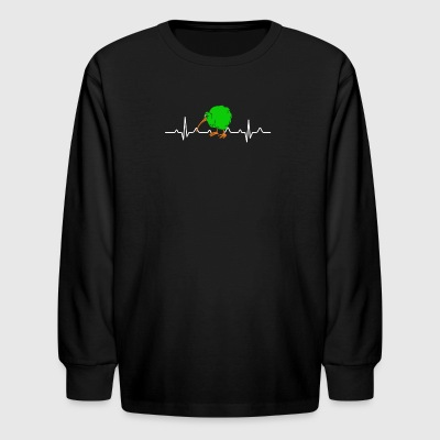 Kiwi Bird Shirt - Kids' Long Sleeve T-Shirt