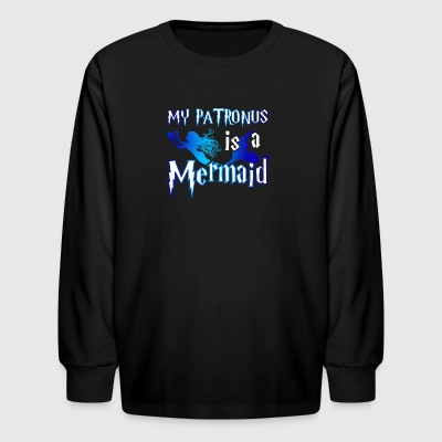 My Patronus Mermaid Tshirt - Kids' Long Sleeve T-Shirt