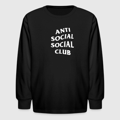 Anti Social Club - Kids' Long Sleeve T-Shirt