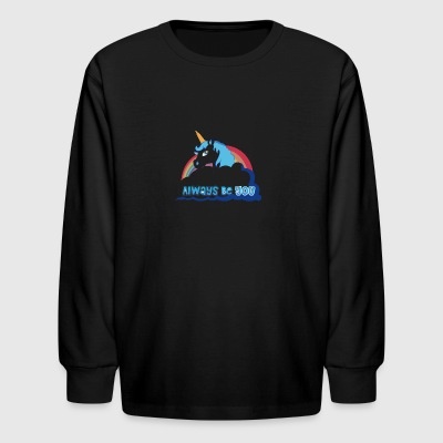 The Horse - Kids' Long Sleeve T-Shirt