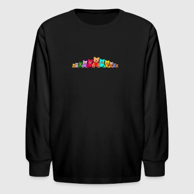 Teddybears / Teddy bears - Kids' Long Sleeve T-Shirt